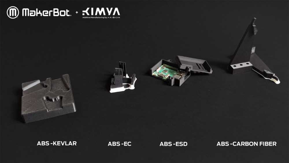Kimya Materials Overview for MakerBot LABS