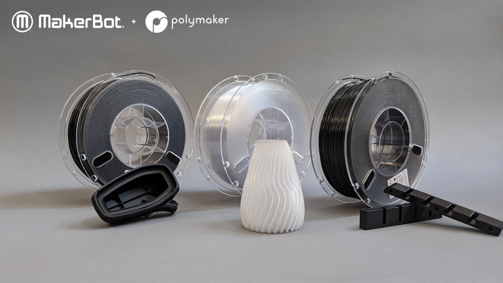 Polymaker Materials Overview for MakerBot LABS