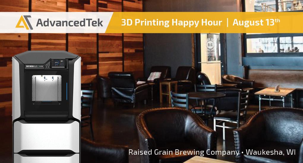 Waukesha 3D Printing Happy Hour