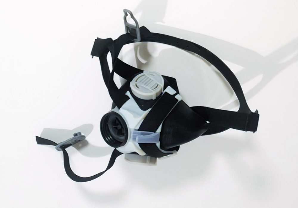 J850 Pro - Mask with Parts in Digital ABS