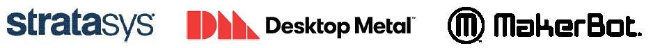 Stratasys, Desktop Metal, MakerBot 3D Printers