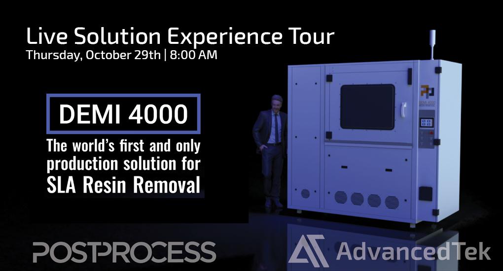 PostProcess DEMI 4000 Live Solutions Tour