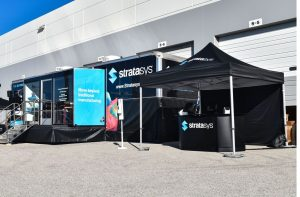 Stratasys Mobile Showroom - outside view