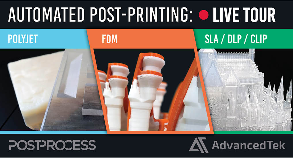 PostProcess Automated Post-Printing Live Tours Q1 2021