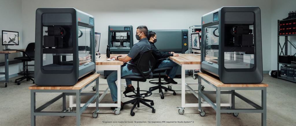 Desktop Metal Studio System 2 and Engineers