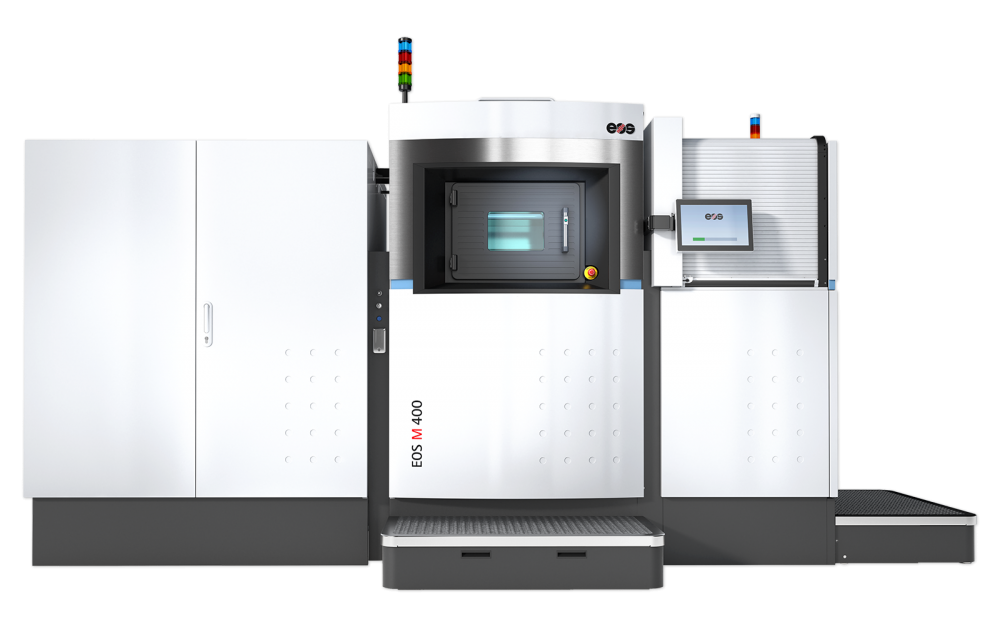 EOS M 400-4 Metal 3D Printer - Front view