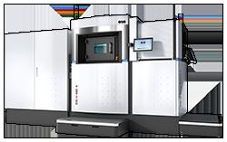 EOS M 400-4 Metal 3D Printer - left view